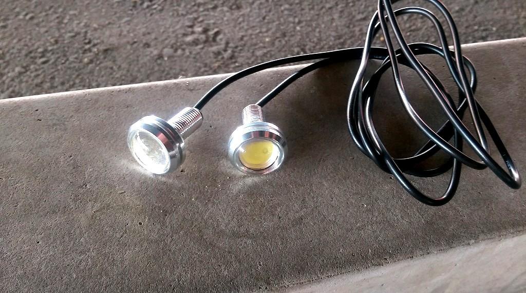 ピカリ館 薄型1.5W Power LED Eagle Eye White