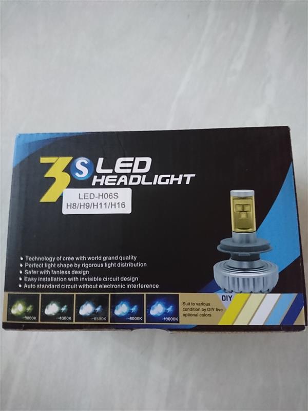 REIZ TRADING LEDフォグランプ4400lm