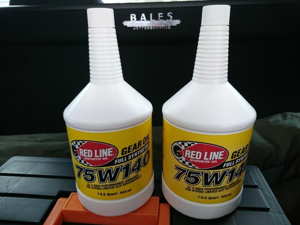 RED LINE Gear Oil 75W-140