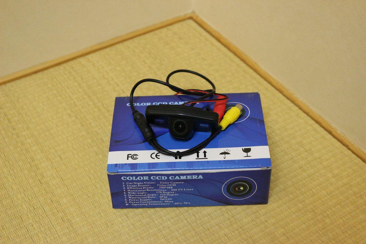 不明 ライセンスランプ付き CCDバックカメラ