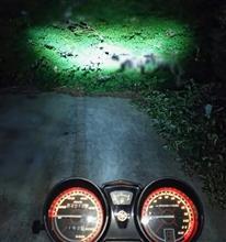 YBR125MAD  MAX LED ヘッドライト ホワイト BA20D/H4BSの全体画像