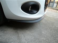 カングーセアト(純正) Cupra R フロントリップスポイラーの全体画像
