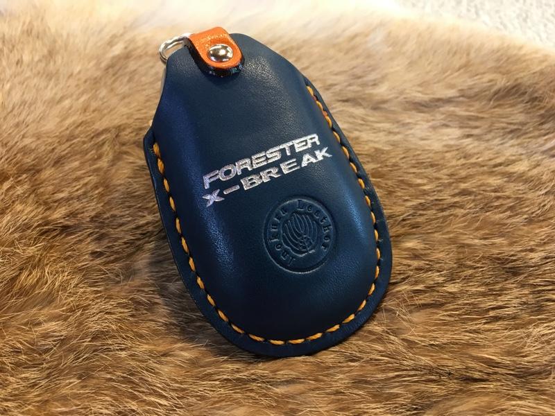 伊の蔵・レザー スバル キーウェアジャケット
