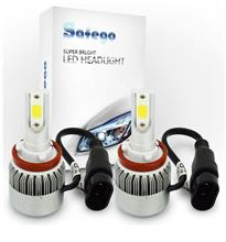 RV125iSafego 72W車用 H11 LED ヘッドライト  C6-H8911の全体画像