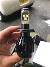 117クーペCREE H4 LEDバルブの全体画像