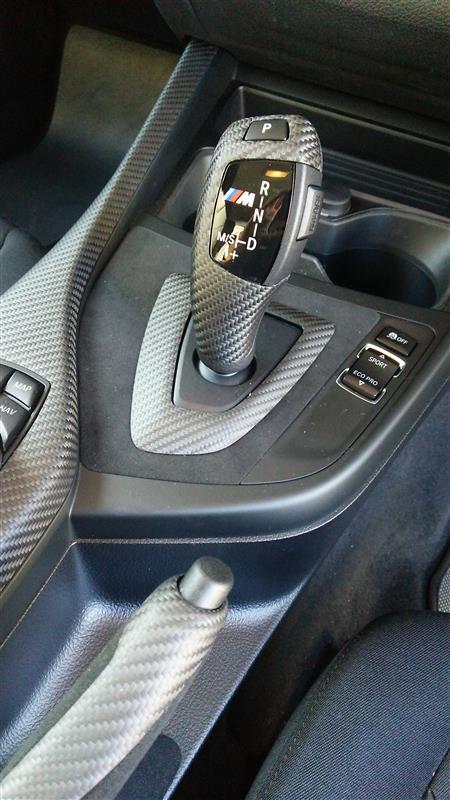 BMW M PERFORMANCE カーボン セレクター レバー グリップ