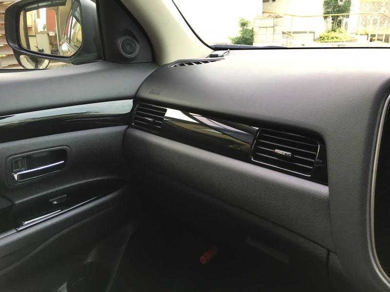 三菱自動車(純正) アクセントパネル(ピアノブラック)