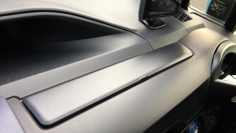 CAR MATE / カーメイト メーターサイドボックスカバー アクア用 ブラック / NZ529