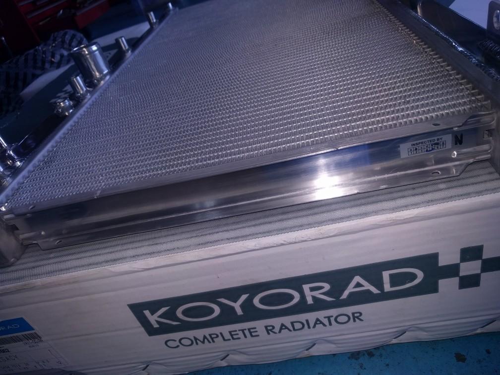 KOYORAD / 江洋ラヂエーター Racing Radiator TYPE-M