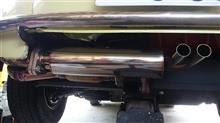 スバル360DADDY motorwarks ワンオフ youngSS風マフラーの全体画像
