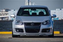 VW  / フォルクスワーゲン純正 VOTEX リップスポイラー一体化