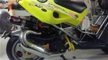 ドラッグスター180PM Tuning PM Tuning Italjet Dragster180cc Centre Exit X-Tec の単体画像