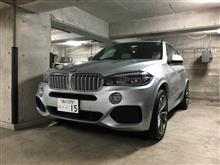 X5プラグインハイブリッドBMW(純正) BMW Performance ブラックキドニーグリルの全体画像