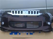 eKスペースカスタム三菱自動車(純正) ek  スペース カスタム用フロントバンパー(ショコラブラウンパール)他一式の単体画像