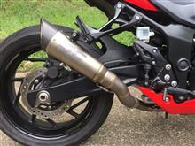 GSX-S750 ABSSC  PROJECT S1サイレンサーの単体画像