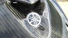 シグナスX SRKOSO カーボンフロントカウルの単体画像