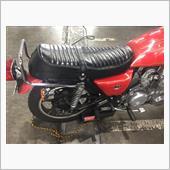Kawasaki Z750FX2型用 タンデムグリップ