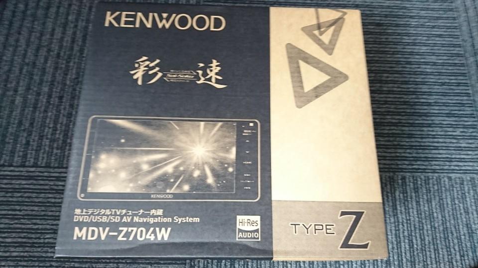 KENWOOD MDV-Z704W