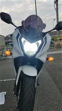 CBR650FSphere Light LEDヘッドライトライジング2の全体画像