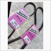 BANDO / バンドー化学 オルタとウォータポンプ用ベルト エアコン用ベルト