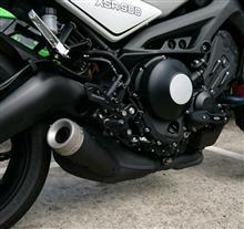XSR900ヨシムラジャパン 機械曲 R-77S サイクロン カーボンエンド EXPORT SPEC 政府認証の全体画像