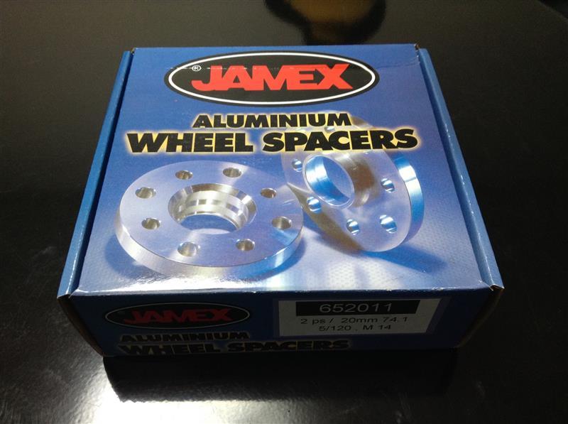 JAMEX WHEEL SPACERS