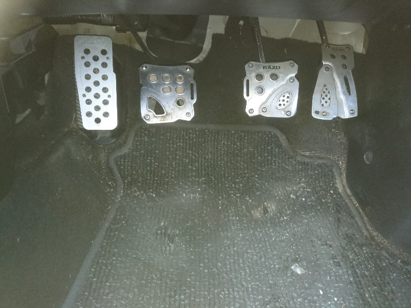 CAR MATE / カーメイト RAZO RAZO SUPER GRIP PEDAL FT RP124