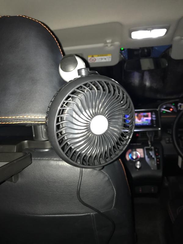 不明 充電式USB扇風機