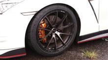 NISSAN GT-RRAYS  ボルクレーシングG25Edge プレスドマットブラックの全体画像
