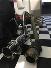 ピクシスバンKC TECHNICA シャトルGTマフラーの全体画像