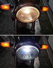 ホーネット250不明  LEDヘッドライト H4 (Hi/Lo) の全体画像