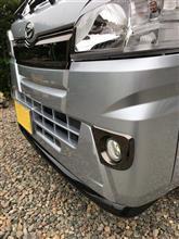 ハイゼットトラックVIP OKINAWA フロントリップスポイラー ver1の全体画像