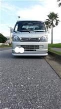 ハイゼットトラックメーカー・ブランド不明 リップスポイラー風の単体画像