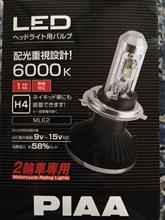 MT-07PIAA LEDヘッドライトバルブ MLE2の単体画像