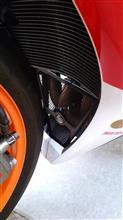 CBR1000RRR&G パイプグリルガードの単体画像