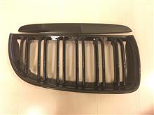 3シリーズ セダン不明 E90 E91 前期 M LOOK フロントキドニーグリル 光沢黒 艶有黒の全体画像