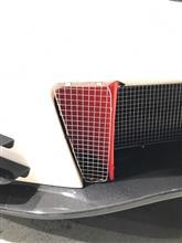 シビックタイプR菱木レーシング フロントバンパー TYPE-Sカーボンの全体画像