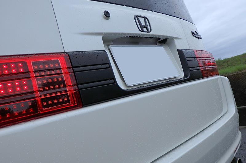 7013WORKS マットブラック塗装+ラッピング仕様リアガーニッシュ