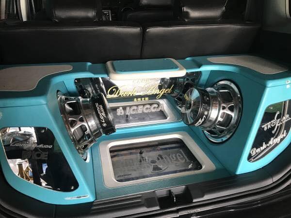 ワンオフ トランクオーディオシステム