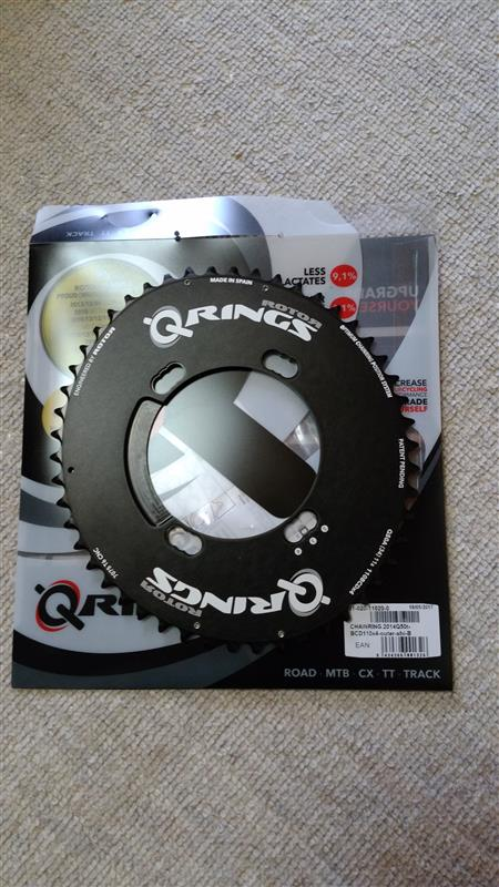 ROTOR Q-Ring Oval Aero Chainring