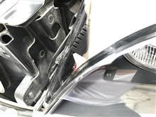 3シリーズ セダンおそらく大陸産 E46 後期セダン用ヘッドライトカバーの全体画像