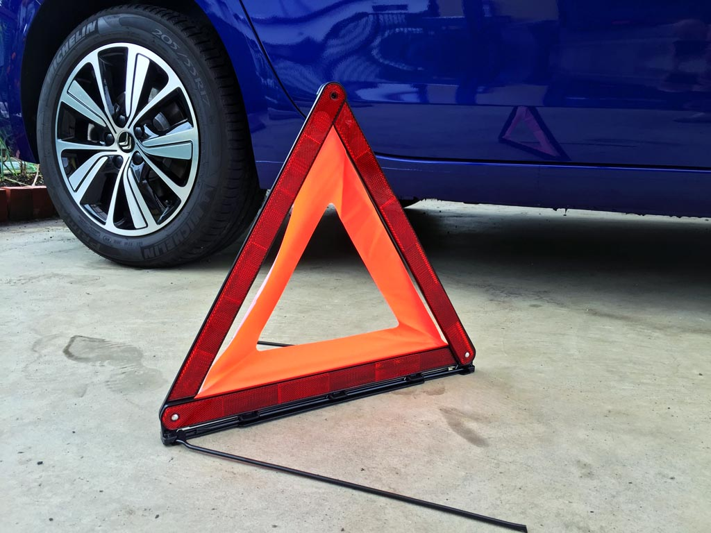 NEW RAYTON EMERSON エマーソン 三角停止表示板