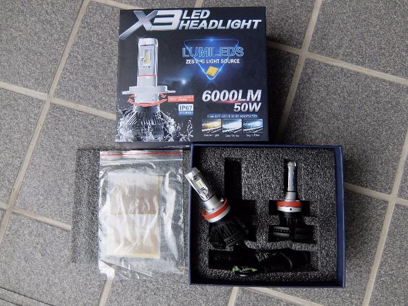 メーカー・ブランド不明 H11 LED X3 ZES 2nd. 6000LM