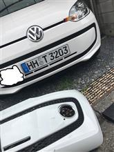 アップ!本国VolksWagen (純正) 純正バンパーの単体画像