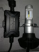デリカD:2ハイブリッドメーカー・ブランド不明 業者 鉄板モデル! お試し価格 IPF PIAA以上 Philips H4-6500K fanレス8000lm 中国国内物注意 2年保証の全体画像