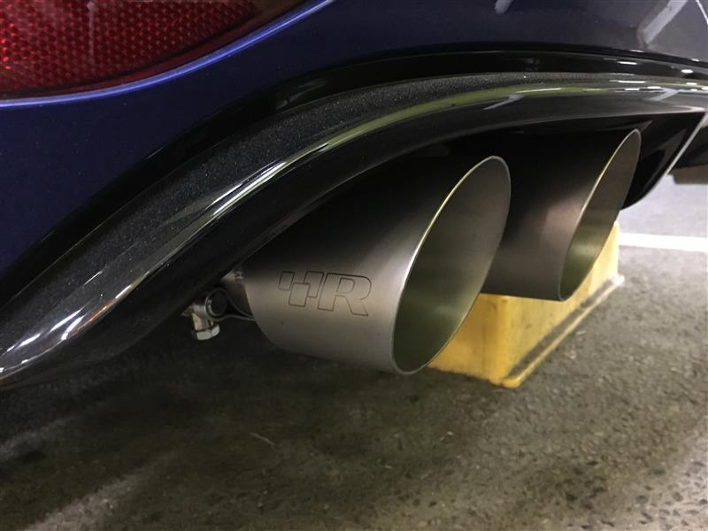 Racingline VWR Rear Exaust System