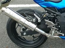 Ninja250SLモリワキエンジニアリング スリップオンZEROの単体画像