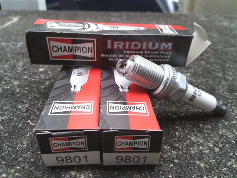 CHAMPION イリジウムプラグ 9801