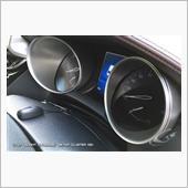 Grazio&Co. ブライトアルミニウム メータークラスター(B)
