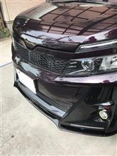 ヴォクシーG'sK'spec トヨタ【80系ヴォクシー[G's]】SilkBlaze フロントリップスポイラー Type-Sの単体画像